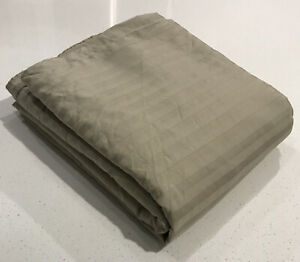 Ikea Duvet Cover Queen Beige with Stripes