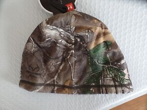 Under Armour Women's Scent Control Storm Fleece. Beanie Realtree. Pony Tail Hole