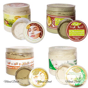 Organic Ghassoul Clay Moroccan Rhassoul Face Mask Anti Ageing Hair Conditioner
