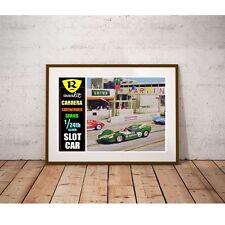 Russkit Carerra Slot Car Poster - 1960's Vintage Slot Car Racing