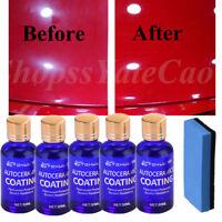 9H Antiscratch Liquid Ceramic Car Coating Hydrophobic Glass Polish Care 30ML