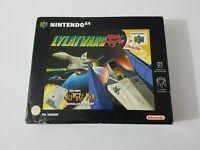 Lylat wars Big Box - Nintendo 64 N64 Game - [UKV Boxed with manual no rumble]