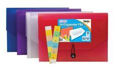 13 Part Expander File A4 School Office Home Organiser Folder Document Pocket