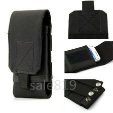 Waist Belt Bags Outdoor Package Pockets Purse Pouch Phone Soft Canvas Case Cover