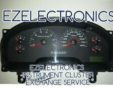 2004 Ford F150 Pickup Instrument Cluster EXCHANGE F150 XL XLT 4L34-10849-AH