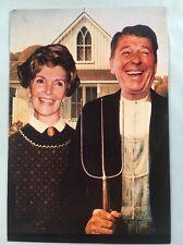 Ronald & Nancy Reagan Postcard - Visit to Windsor Postmark SHS Cover 7/6/1982