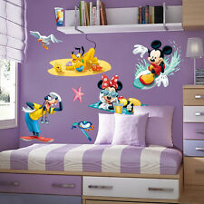 Mickey Mouse Characters Wall Sticker Wall Decals Removable Kids Art