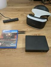 Sony PSVR (V2) Bundle + Rush Of Blood - Great Condition - For PS4 / PS5
