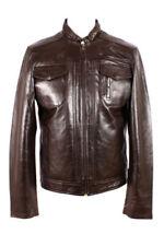 Abrigos y chaquetas de hombre motera marrón color principal marrón