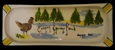 Singing Springs Ranch On The Rogue ROOSTER Agness River Oregon Ceramic Ashtray