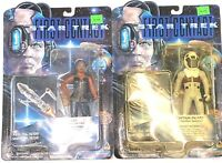 VTG Star Trek First Contact Action Figures Playmates Lot of 2 Factory Sealed
