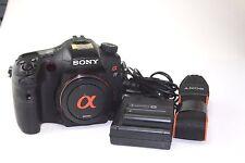Sony Alpha SLT-A77V 24.3MP Digital SLR Camera - Black (Body only)-Used