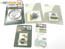 E46W169s Faller CarSystem H0 161677 161674 5x Zubehör Parkplatz Fahrdraht *NEU*