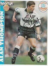 ALAN THOMPSON BOLTON WANDERERS 1993-1998 ORIGINAL HAND SIGNED MAGAZINE CUTTING