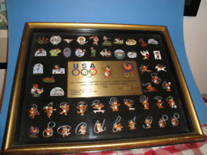 US Olympic Committee 1988 Limited Edition Cloisonne Collectors' Pins Series 1-A