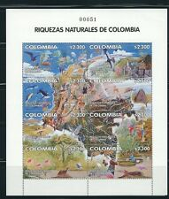 COLOMBIA 2002 COMPLETE YEAR -LOW NUMBER  #000051 !!!    MNH