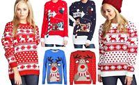 Women Men Unisex XMAS Reindeer To The PUB Pom Pom Rudolf Jumper Sweatshirt Top