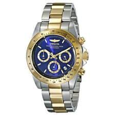 Invicta 3644 Para hombre Speedway Dos Tonos Reloj con Cronógrafo Dial Azul