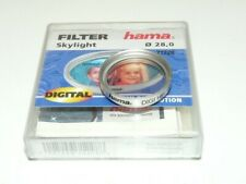 Hama 28mm Skylight High Resolution Digital Chrome Body Camera Lens Filter 71228