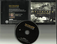 FAITHLESS Mass Destruction w/ MP3 FORMAT trk PROMO DJ CD Single 2004 USA MIINT