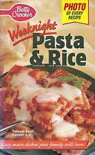 WEEKNIGHT PASTA & RICE BETTY CROCKER COOKBOOK OCTOBER 1998 #143 MEXI SHELLS MORE