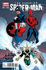 SUPERIOR SPIDERMAN 31 CAPTAIN AMERICA TEAM-UP TIM SALE VARIANT FINALE IN STOCK