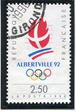 STAMP / TIMBRE FRANCE OBLITERE N° 2632 SPORT JO ALBERVILLE