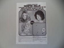 advertising Pubblicità 1976 PARRUCCHE DITTA SAME