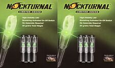 Rage Nockturnal-S Lighted Nocks 6pk Green 2xNT-205 #2x01018 DoubleTake