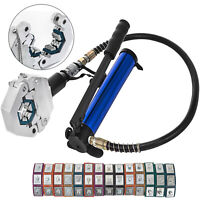 Separable Hydraulic Hose Crimper 7 Dies Hose Fittings Air Condtioning Automotive