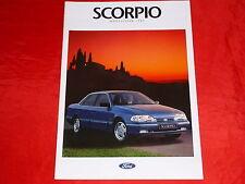 FORD Scorpio CLX GLX Ghia Prospekt von 1992