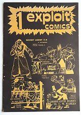 EXPLOIT COMICS n. 1  speciale Agente Segreto X-9 di A. Raymond  1977 - ottimo