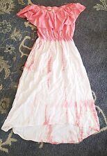 jella c. White Pink Women's Size Small S Dress $130 Nordstrom