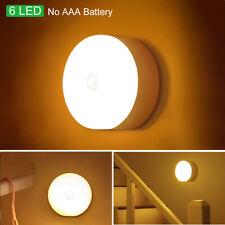 LED Motion Sensor Lights PIR Wireless Night Light Wardrobe Cabinet Strip Lamp