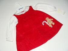 Petit Ami Baby Girls 6 M Great For Monogramming Monogram Gingerbread Dress NEW