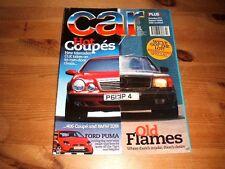 CAR MAGAZINE JUL-1997 - Ford Puma, Ferrari 550M, Peugeot 406 Coupe, Mercedes CLK