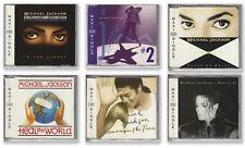 Michael Jackson - lot de 6 maxi CD single