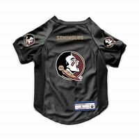NEW FLORIDA STATE SEMINOLES DOG CAT DELUXE STRETCH JERSEY