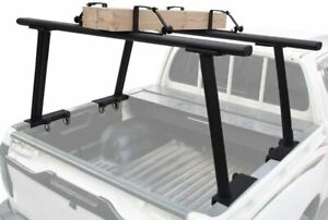 Extendable Universal Aluminum Pickup Truck Bed Ladder Rack with Ladder Stops