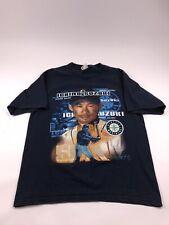 Majestic Ichiro Seattle Mariners Size Large Shirt VTG