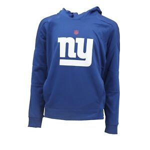 New York Giants Official NFL Kids Youth Size Tek Warm Hooded Sweatshirt New Tags