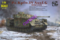 2019 New #BT001  Border BT001 1/35 Model Panzer IV Ausf.G Mid/Late 2in1