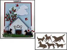 Impression Obsession DOG SET Die Set Steel DIE170-R Wafer Thin