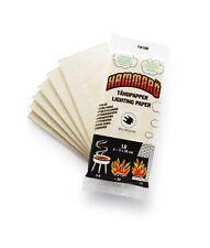 Fire Lighting Tinder card BBQ Survival Kit Campfire Camping Bug Out Bag Hammaro