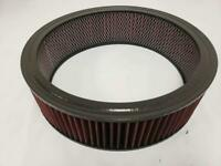 """Universal Washable 14 x 4 Round High Flow Air Cleaner Filter Element 14"""" x 4"""""""