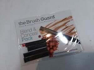 THE BRUSH GUARD Blend & Conceal Pack 8 Small GRAPHITE Brush Guards -LOT OF 2