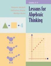Lessons for Algebraic Thinking: Grades 3-5