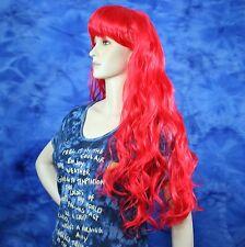 Wavy Candy Apple Red Wig Long JDSW20