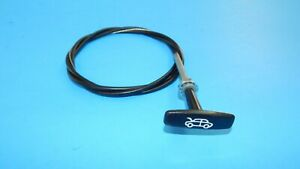 New Hood Release Cable Bonnet Release Cable MG Midget Sprite 1962-1979 T-Handle