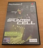 Tom Clancy's Splinter Cell COMPLETE Playstation 2 PS2 Video Game FREE P&P